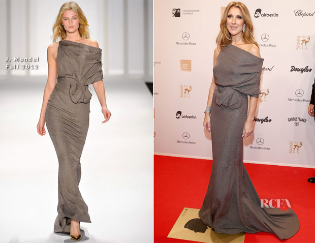 Celine Dion In J Mendel - 2012 Bambi Awards