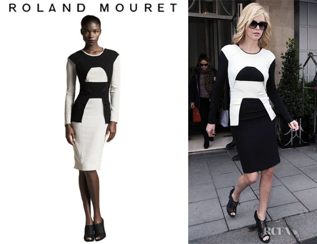 Charlize Theron's Roland Mouret Scratcherd Dress