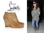 Cheryl Cole's Christian Louboutin Belle Zeppa Ankle Boots