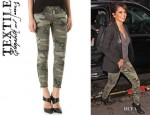 Cheryl Cole's TEXTILE Elizabeth and James Cooper Camo Jeans