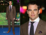 Chris Pine In Ralph Lauren Purple Label - 'The Rise of the Guardians' Premiere