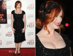 Christina Hendricks In L'Wren Scott - 'Ginger And Rosa' AFI Fest Premiere