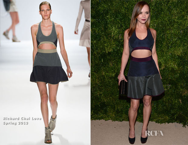 Christina Ricci In Richard Chai Love - 2012 CFDAVogue Fashion Fund Awards