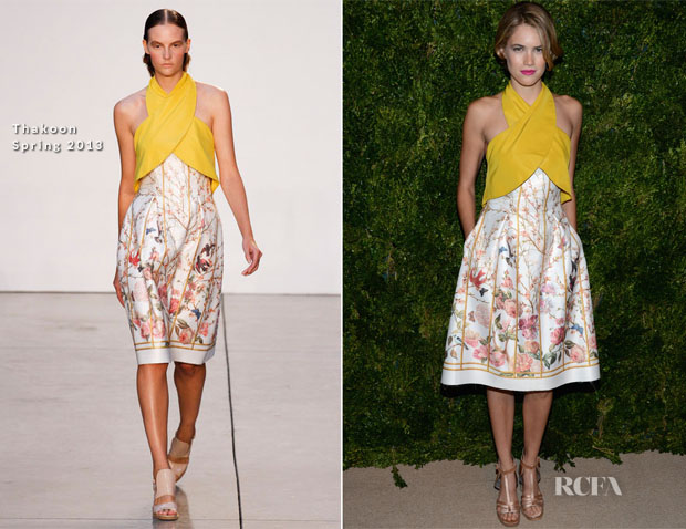 Cody Horn In Thakoon - 2012 CFDAVogue Fashion Fund Awards