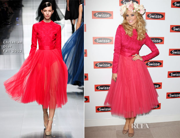 Delta Goodrem In Christian Dior - Melbourne Cup