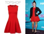 Demi Lovato's Topshop Shift Dress