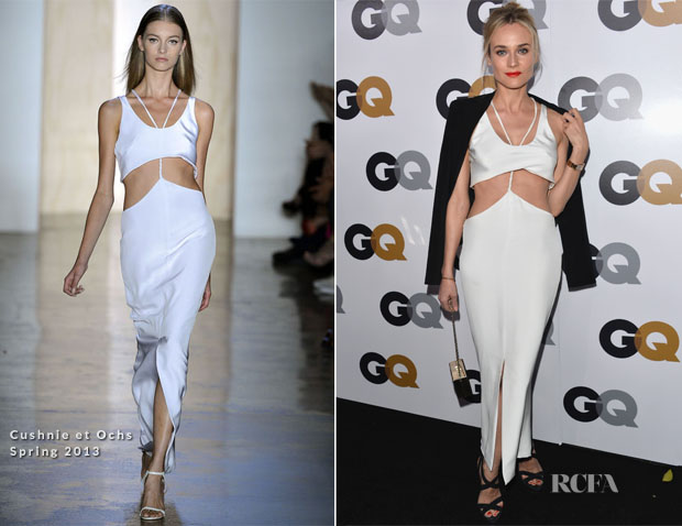Diane Kruger In Cushnie et Ochs - 2012 GQ Men of the Year Party