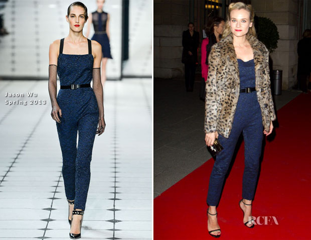 Diane Kruger In Jason Wu - 'Place Vendome'