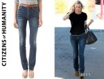 Diane Kruger's Citizens of Humanity Arley High Waisted Jeans