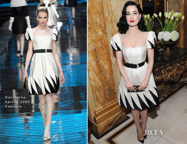 Dita von Teese In Valentino Couture – the-miumiu-london