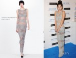Eliza Doolittle In Julien Macdonald - Grey Goose Winter Ball