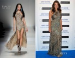 Elizabeth Hurley In Blumarine - Grey Goose Winter Ball