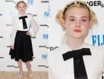 Elle Fanning In Dolce & Gabbana - 'Ginger and Rosa' LA Screening