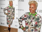 Emeli Sande In Preen - Harper's Bazaar Woman of the Year Awards