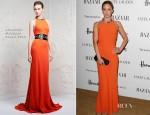 Emily Blunt In Alexander McQueen - Harper's Bazaar Woman of the Year Awards