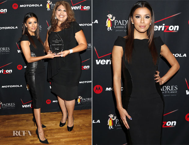 Eva Longoria In Monique Lhuiller - 4th Annual Latino Entrepreneur of the Year Awards Gala
