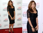 Eva Mendes In Dolce & Gabbana - 'Holy Motors' AFI Fest Screening