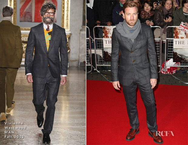 Ewan McGregor In Vivienne Westwood MAN - 'The Impossible' London Premiere