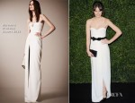 Felicity Jones In Burberry Prorsum - London Evening Standard Theatre Awards