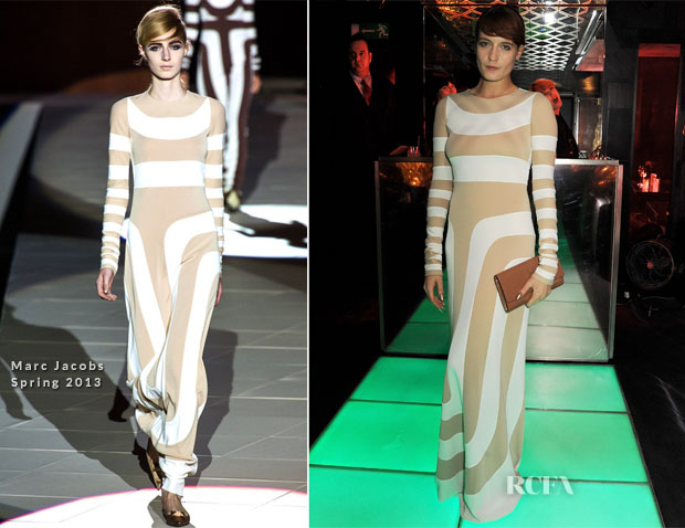 Florence Welch In Marc Jacobs - 'Kate The Kate Moss Book' Launch Party