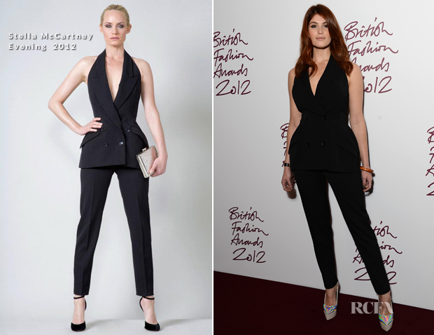 Gemma Arterton in Stella McCartney Evening Collection 2012 2012 BFA