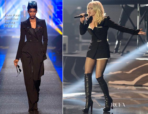 Gwen Stefani In Jean Paul Gaultier 2 - 2012 MTV EMAs