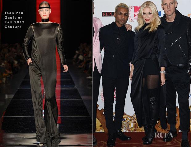 Gwen Stefani In Jean Paul Gaultier - 2012 MTV EMAs