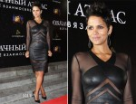 Halle Berry Catherine Malandrino - 'Cloud Atlas' Moscow Premiere