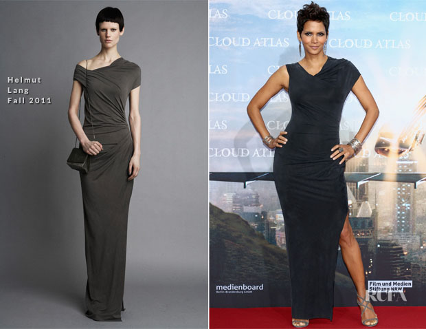 Halle Berry In Helmut Lang - 'Cloud Atlas' Berlin Premiere
