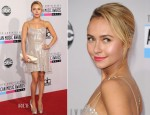 Hayden Panettiere In Giorgio Armani - 2012 American Music Awards