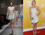 Hayden Panettiere In Georges Chakra Couture - 2012 CMA Awards
