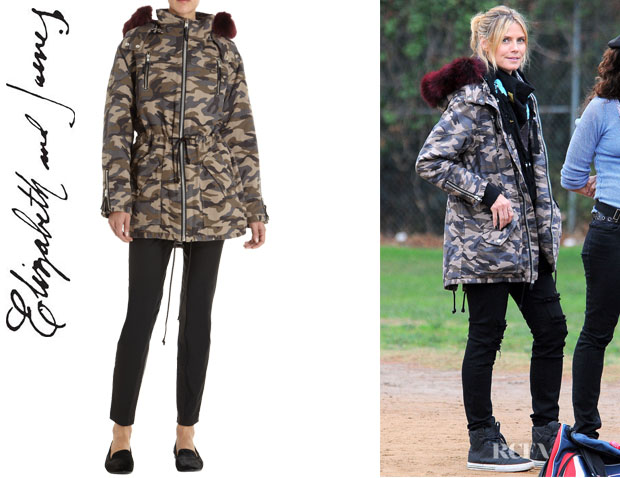 Heidi Klum's Elizabeth and James Rollins Parka