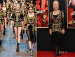 Helen Mirren In Dolce & Gabbana - 'Hitchcock' New York Premiere