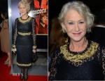 Helen Mirren In Dolce & Gabbana - 'Hitchcock' LA Premiere