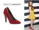 Holland Roden's Rebecca Minkoff Darling Pumps