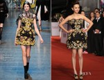 Ivy Chen In Dolce & Gabbana - 2012 Golden Horse Awards