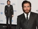 Jake Gyllenhaal In Salvatore Ferragamo - New Eyes for the Needy 80th Anniversary Gala