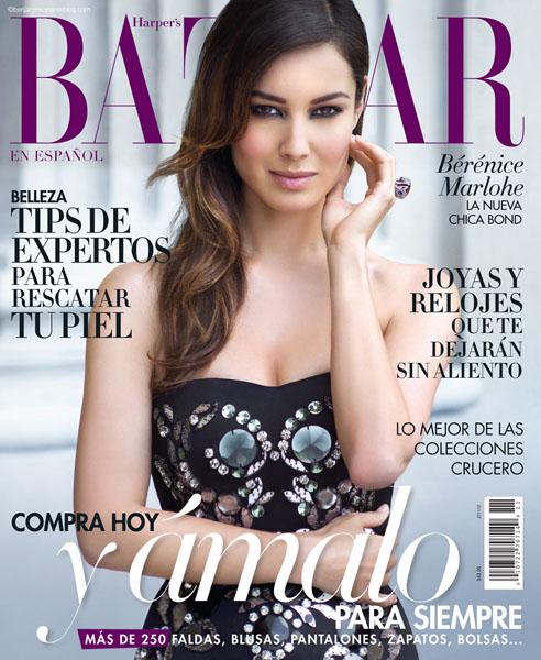 Bérénice Marlohe For Harper's Bazaar Español