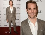 James Van Der Beek In Calvin Klein - DETAILS Hollywood Mavericks Party