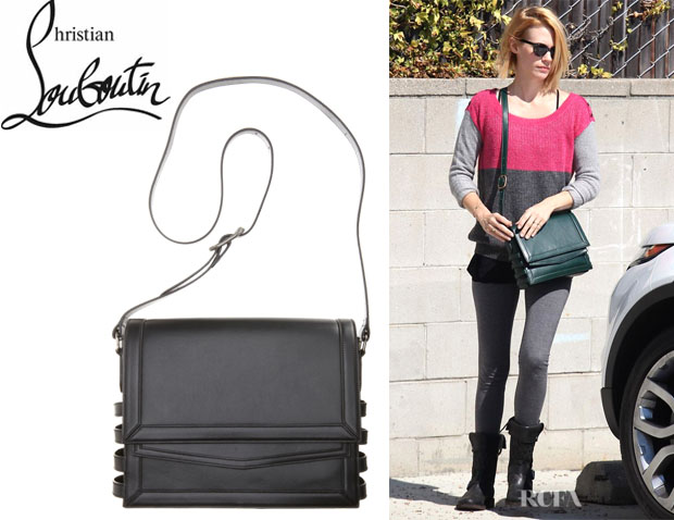 January Jones' Christian Louboutin Farida Messenger Bag