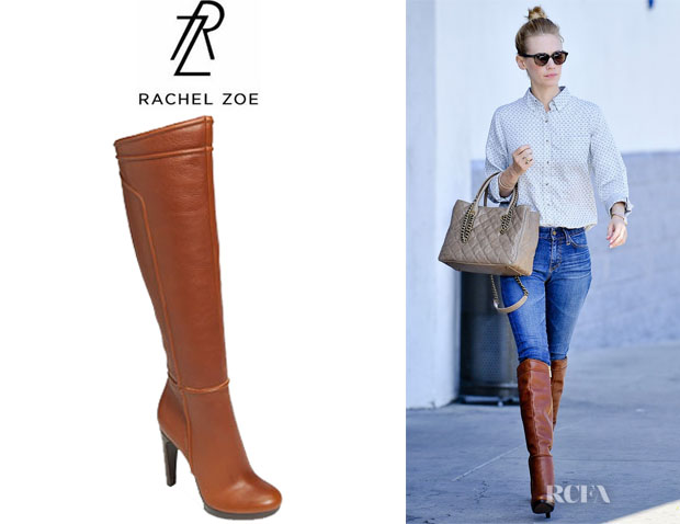 January Jones' Rachel Zoe Chloe Boots