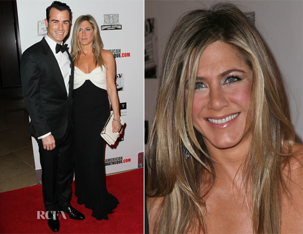 Jennifer Aniston In Valentino - 2012 American Cinematheque Tribute To Ben Stiller
