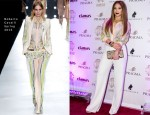 Jennifer Lopez In Roberto Cavalli - Cavalli Club