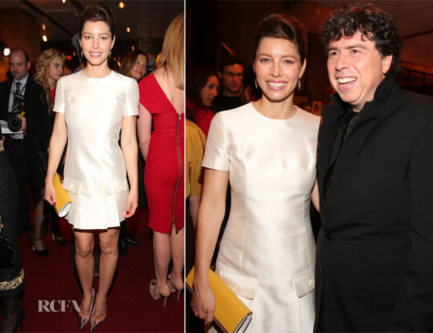 Jessica Biel In Michael Kors - 'Hitchcock' LA Premiere After-Party