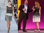 Jessica Alba In Oscar de la Renta - Microsoft Windows Phone 8 Launch