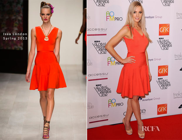 Joanne Froggatt In Issa London - WGSN Global Fashion Awards