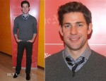 John Krasinski In Jack Spade & Citizens of Humanity - TimesTalk Presents An Evening With Marion Cotillard, Matt Damon & Gus Van Sant