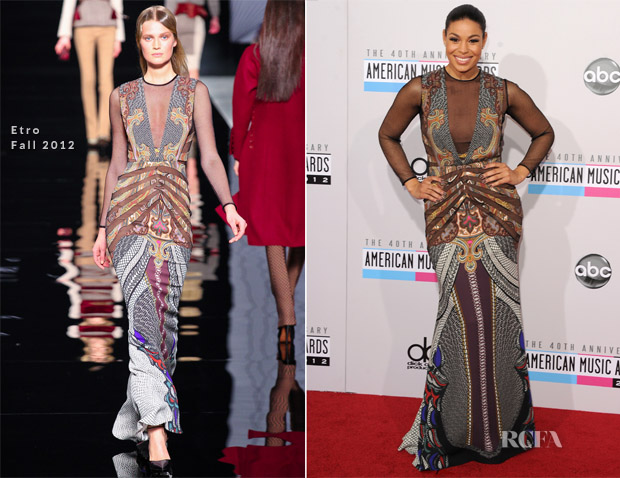 Jordin Sparks In Etro Fall 2012 - 2012 American Music Awards