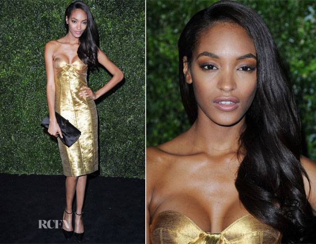 Jourdan Dunn In Burberry Prorsum - London Evening Standard Theatre Awards