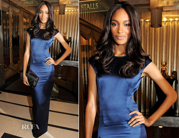 Jourdan Dunn In Topshop - 2012 British Fashion Awards